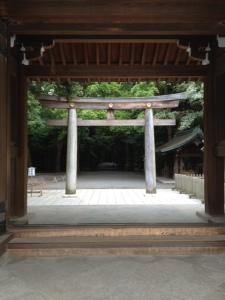 Meiji Shrine gateway