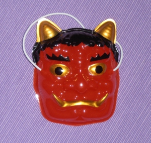 Oni mask for Setsubun