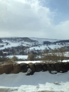 Peak District snow